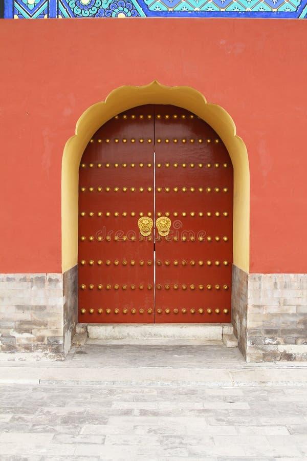 Download Temple doors stock image. Image of balance, building - 23756209