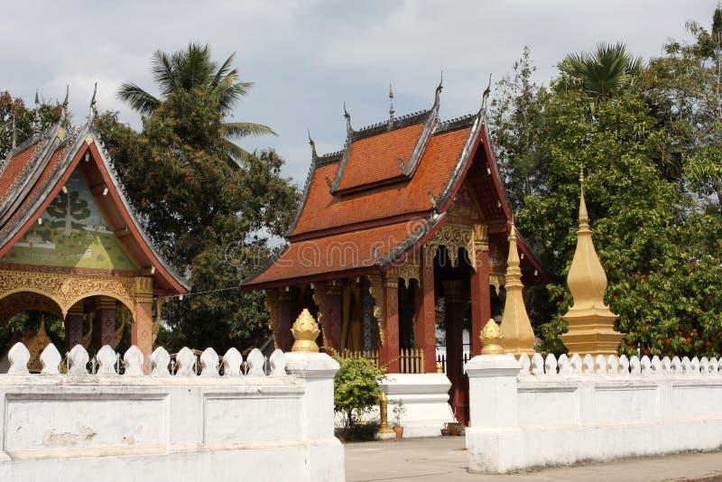 Temple du Laos image stock
