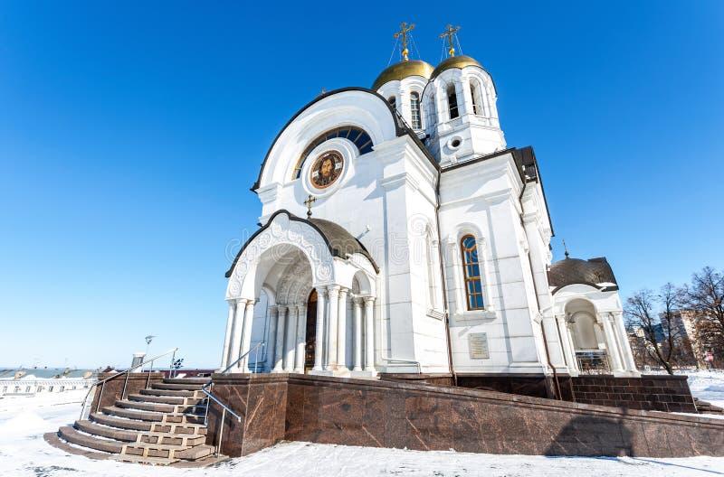 Temple du martyre St George le victorieux photos stock
