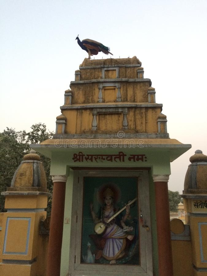 Temple du Ràjasthàn d'Indien photographie stock libre de droits