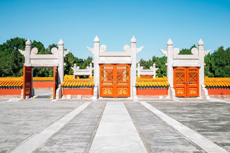 Temple of Earth, Ditan Park in Beijing, China. Temple of Earth, Ditan Park at Beijing, China stock image