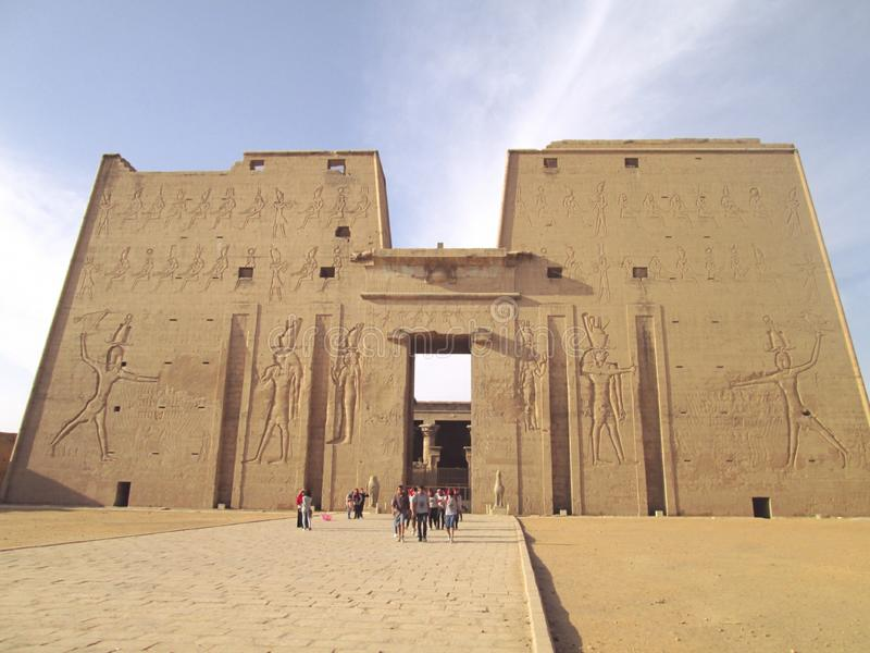 Temple;Egypt royalty free stock photo