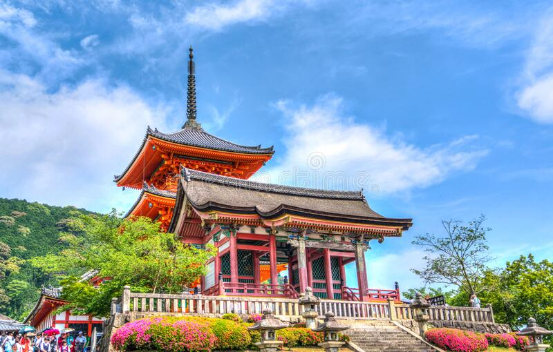 Temple On Elevated Area Under Blue Sky And White Clouds During Daytime Free Public Domain Cc0 Image
