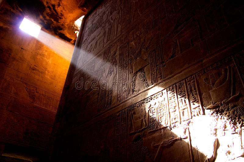Temple en Egypte photographie stock