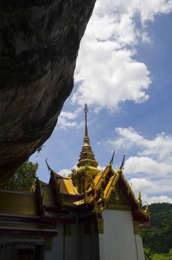 Temple en Thaïlande, province thaïlandaise de Saraburi photographie stock