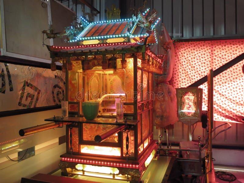 Temple en verre de Taïwan Lukang images libres de droits