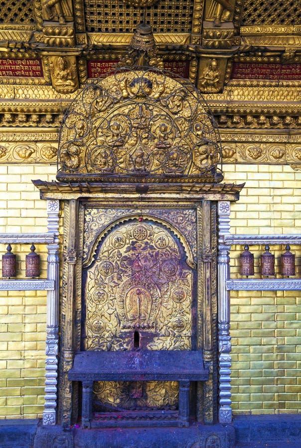 Free Temple Entrance, Swayambunath, Kathmandu, Nepal Royalty Free Stock Images - 12700929