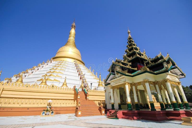 Temple et pagoda dans Bago, Myanmar photo libre de droits