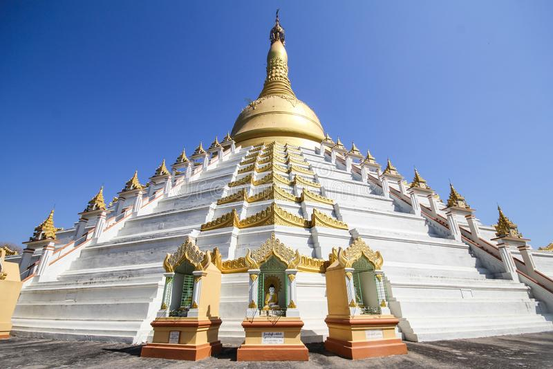 Temple et pagoda dans Bago, Myanmar photo stock