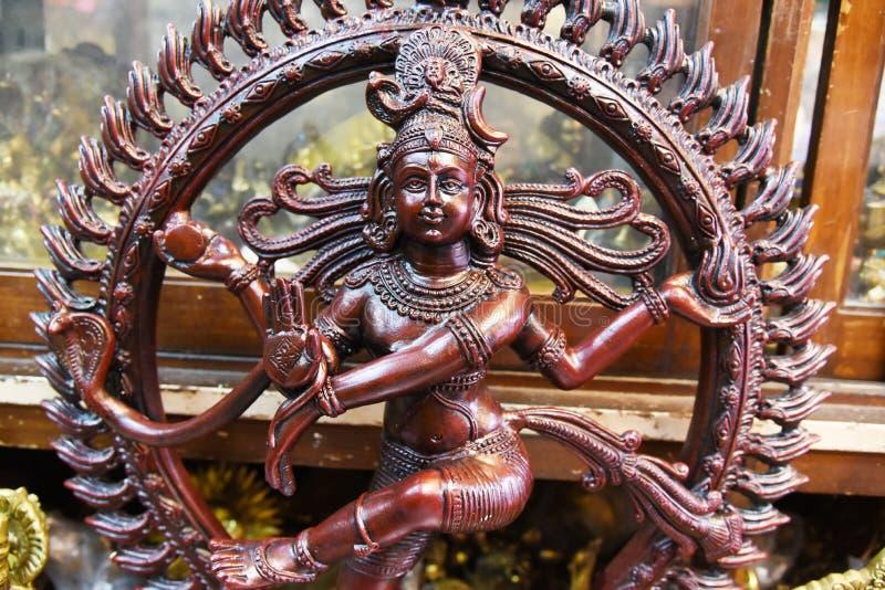 Temple Facade indiane fotografia stock libera da diritti