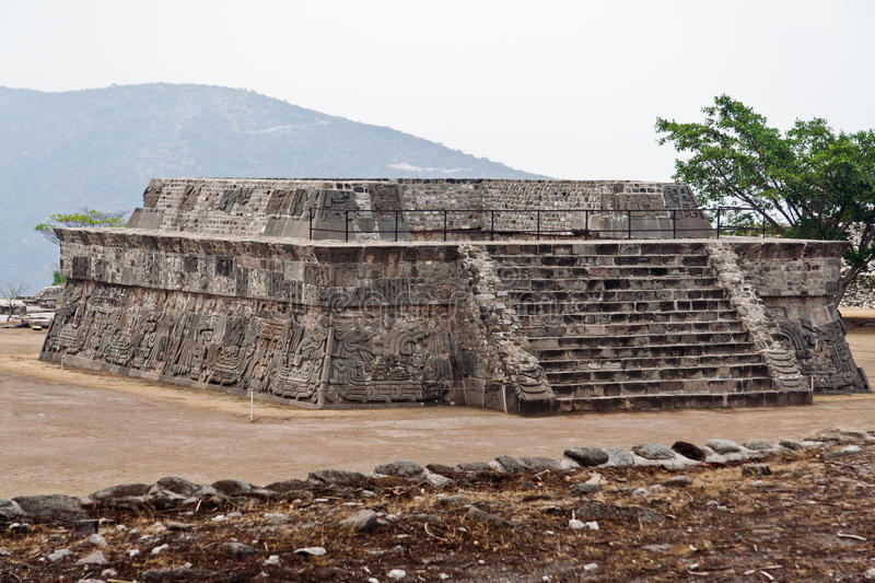 Download The Temple Of The Feathered Serpent Xochicalco Stock Image - Image: 23851689