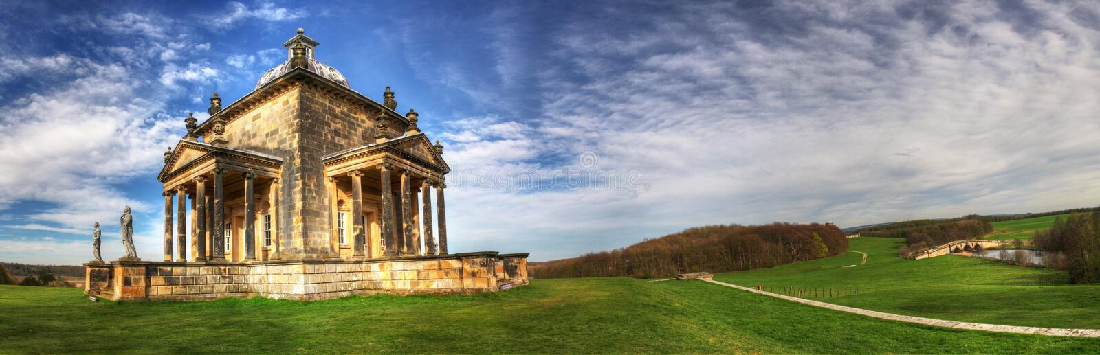 Temple Of Four Winds. At Castle Howard, North Yorkshire, UK stock image