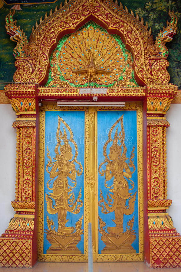Temple gate stock photography