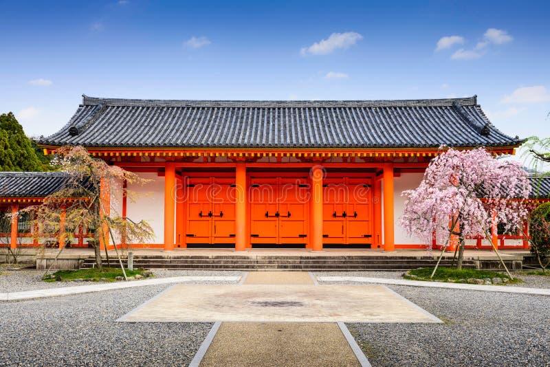 Temple Gate in Kyoto. Sanjusangendo Shrine gate in Kyoto, Japan stock photo