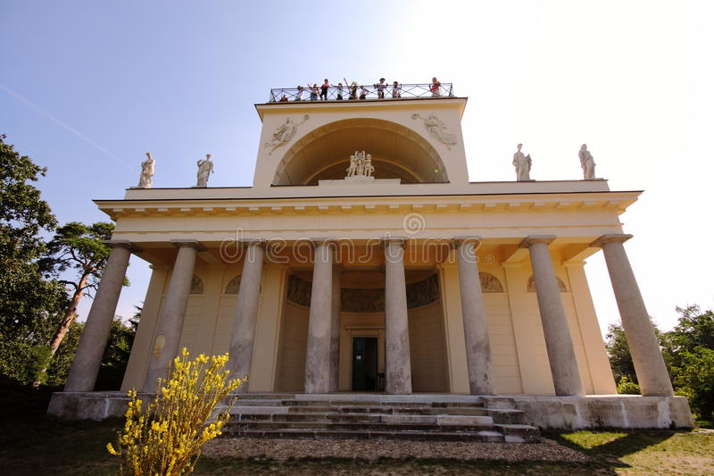 Download Temple of god of sun stock image. Image of moravia, column - 12100271