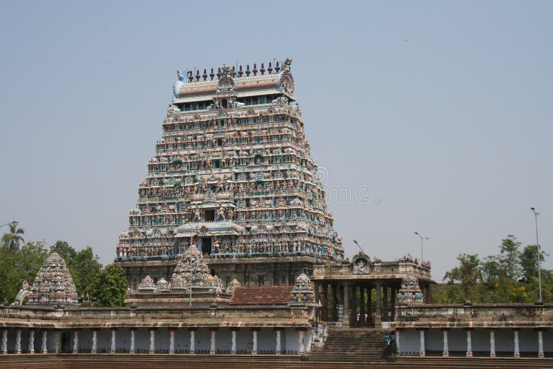 Temple Gopuram royalty free stock photography
