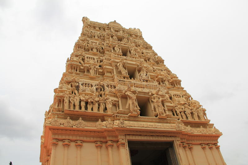 Temple Gopuram image libre de droits