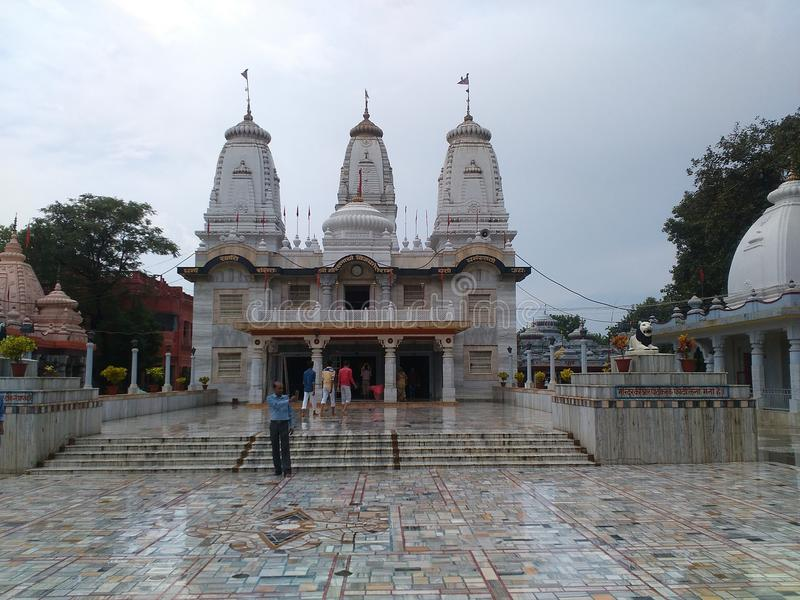 Temple. Gorakhnath temple gorakhpur in india stock image