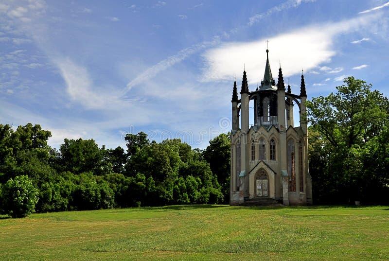 Temple gothique Krasny Dvur photos libres de droits