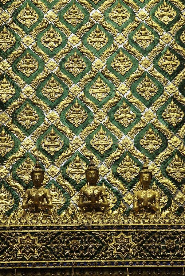 temple grand bouddhiste Thaïlande de palais de l'Asie Bangkok photos stock