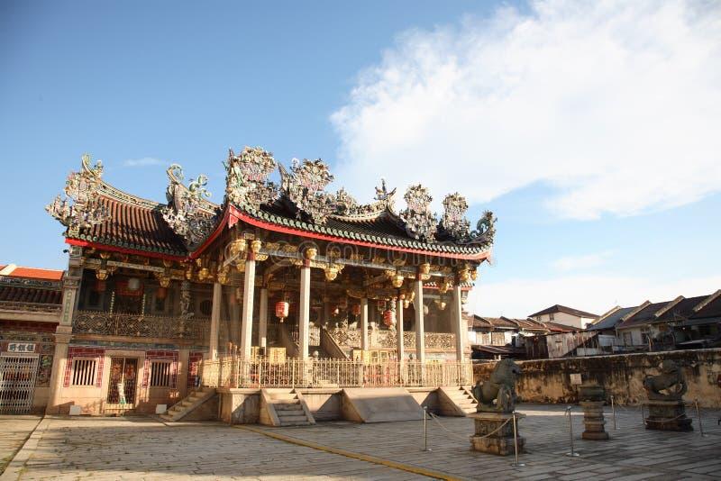 Temple grand de clan photo stock