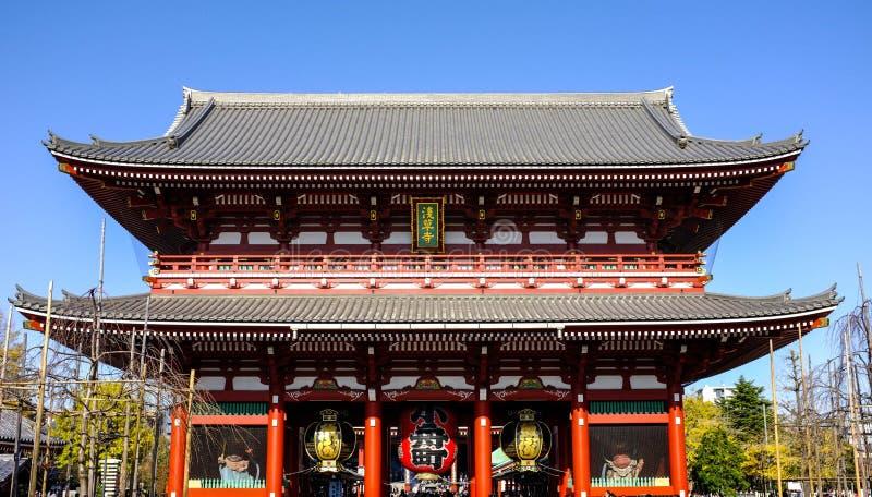 Temple grand de Todaiji de Tokyo, Japon image libre de droits