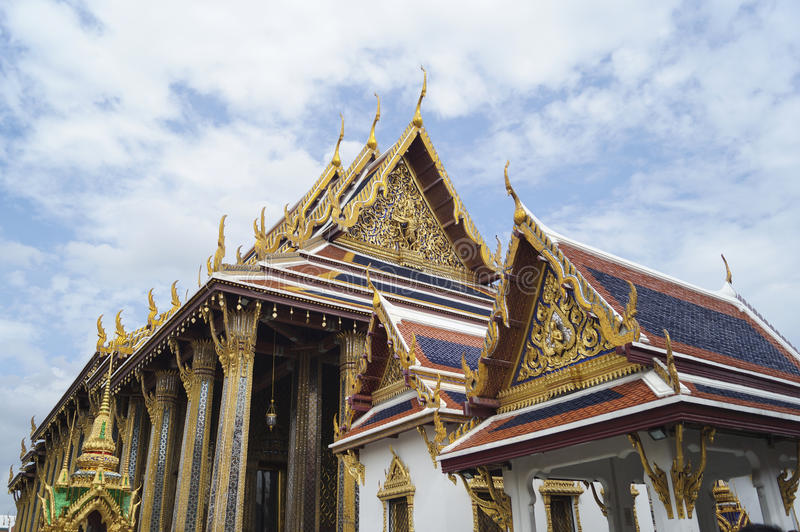 Temple in Grand Palace stock images