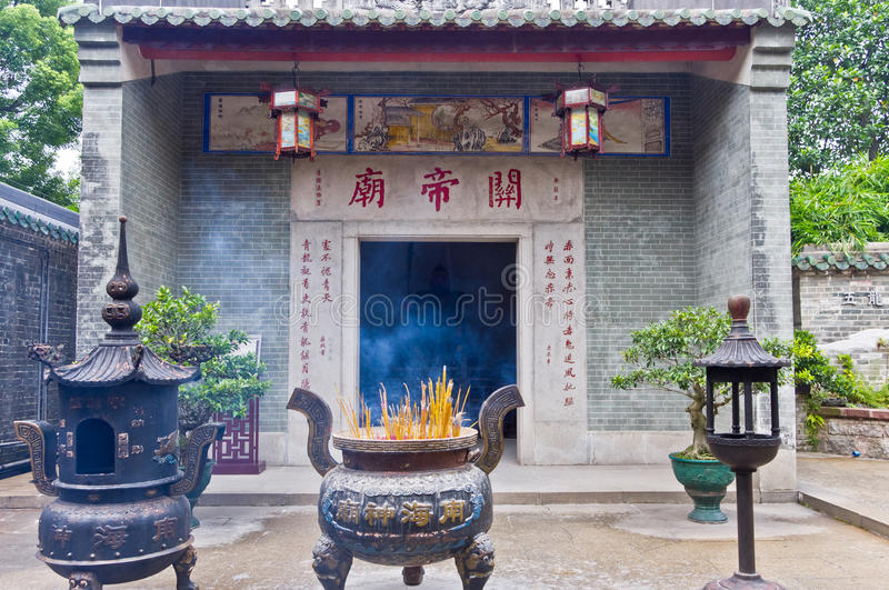 Download Temple of guan yu stock photo. Image of architecture - 25727454