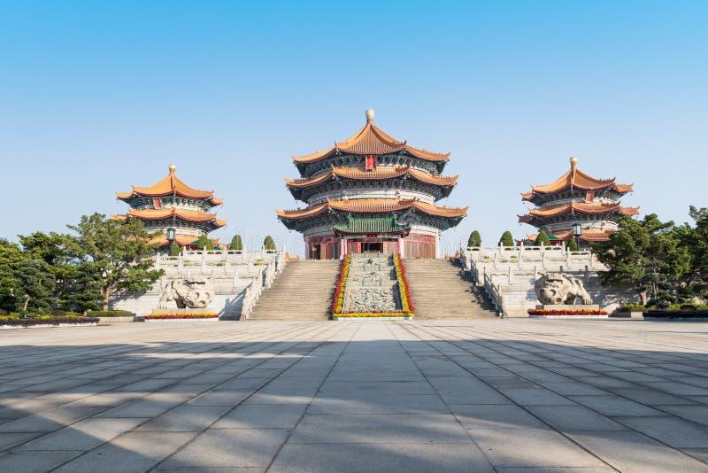 Temple Guangzhou Guangdong, Chine de Taoist de Yuanxuan images stock