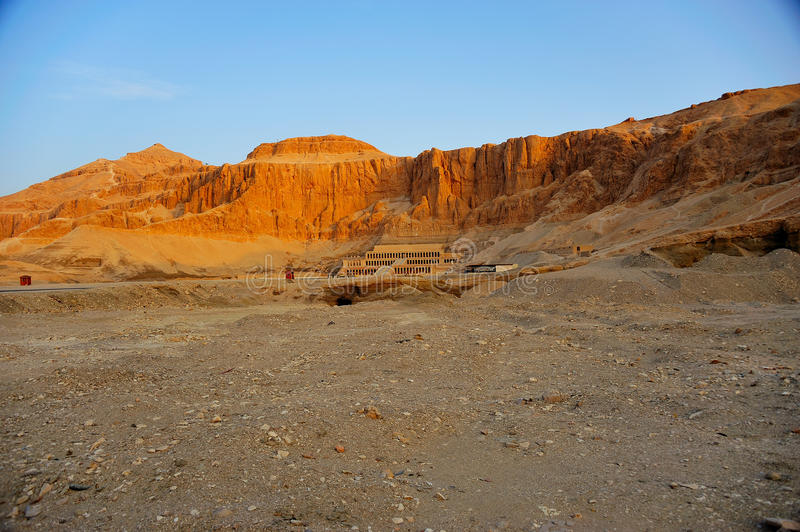 Temple of Hatschepsut, Thebes stock photography