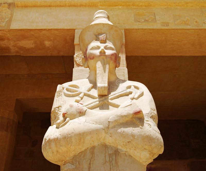 The temple of Hatshepsut royalty free stock images