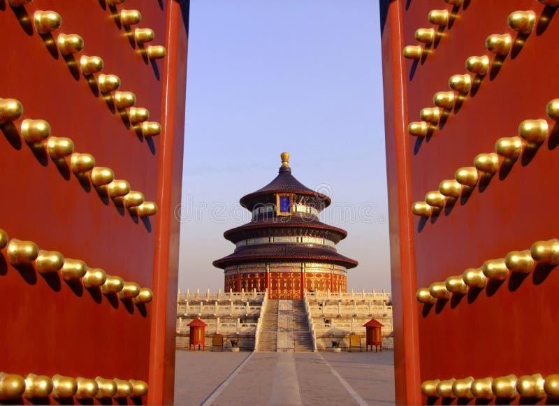 Temple of Heaven в Пекине, Китай стоковые фотографии rf