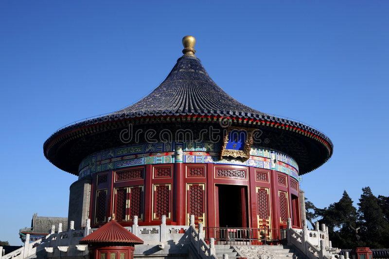 Download Temple of heaven stock photo. Image of attraction, beijing - 3857734