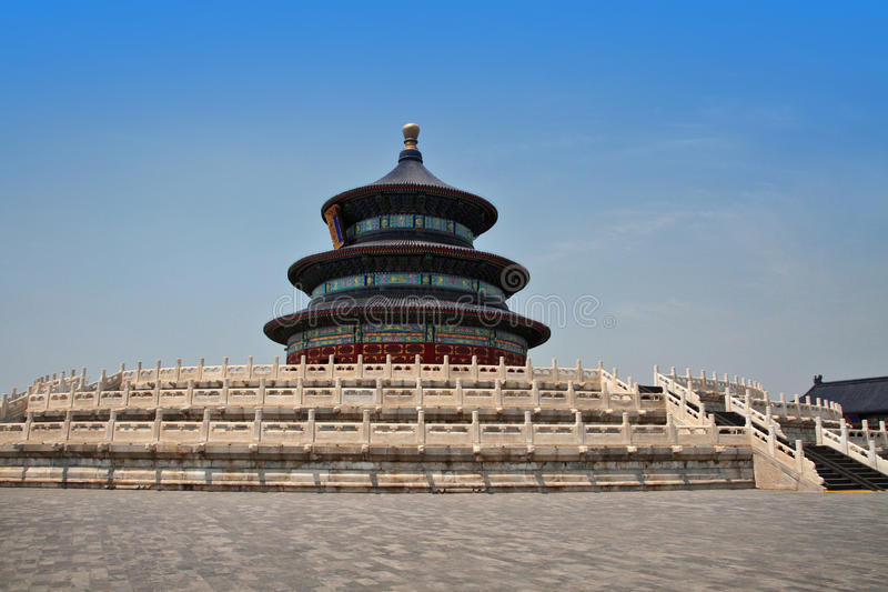 Download Temple of heaven stock photo. Image of place, architecture - 65789018