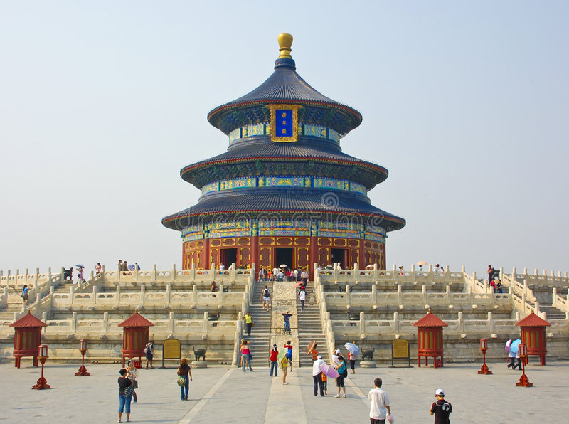 Download Temple of heaven, china stock image. Image of buddha, chinese - 5742327