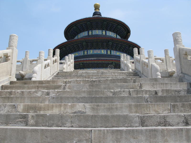 Temple Of Heaven Steps Royalty Free Stock Images