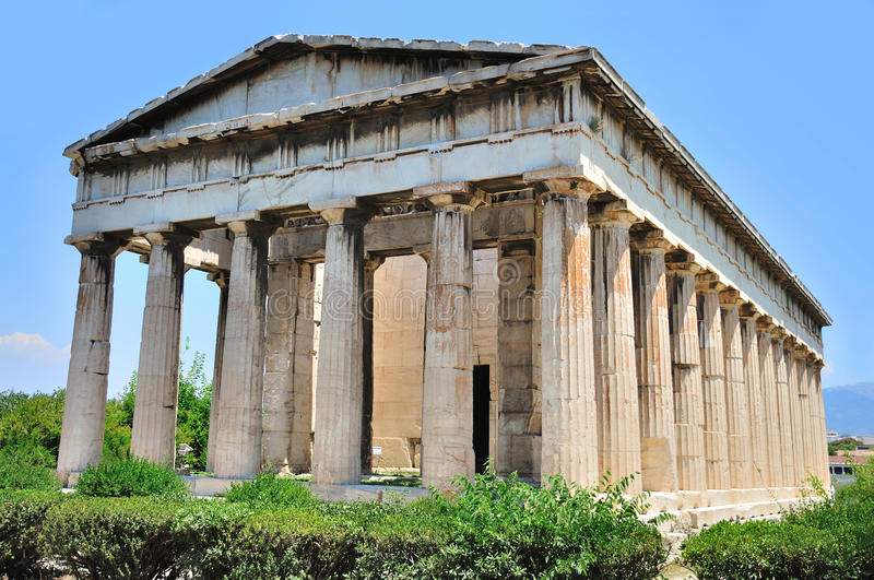 Download The Temple Of Hephaestus In Athens Stock Image - Image: 20735209