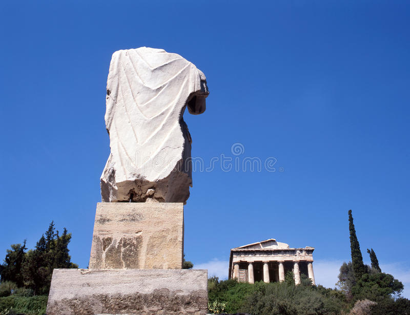 Download Temple Hephaisteion (Theseion). Stock Image - Image: 11805847