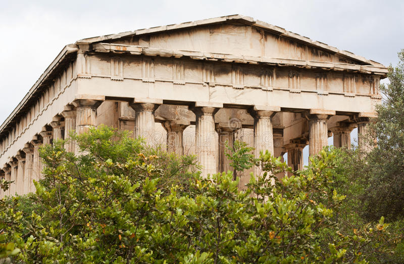 Download Temple Of Hephaistos In The Ancient Agora, Athens Stock Photo - Image: 19741086