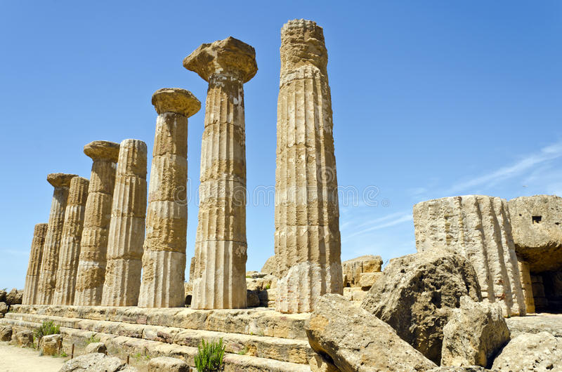 Download Temple Of Heracles - Valley Of The Temples Stock Image - Image: 26805391