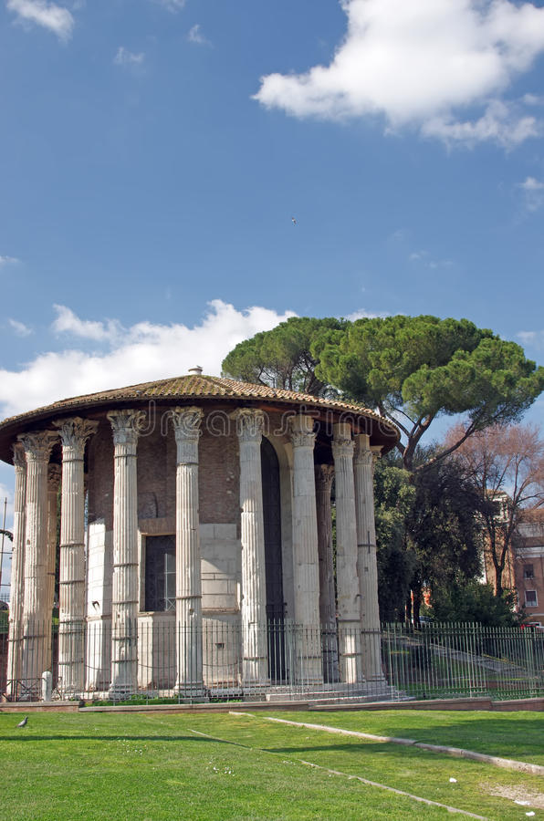 Download Temple Of Hercules Victor Royalty Free Stock Image - Image: 19690306