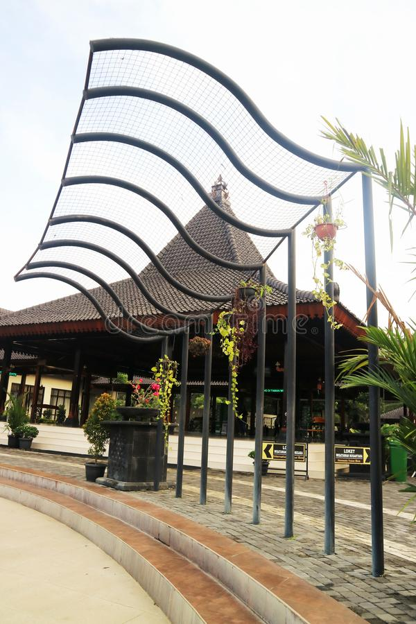 Temple hindou de Prambanan, Bokoharjo, Sleman Regency, r?gion sp?ciale de Yogyakarta, Indon?sie photos stock