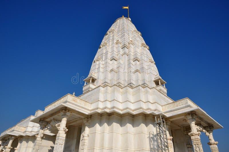 Temple hindou indien de marbre photographie stock libre de droits