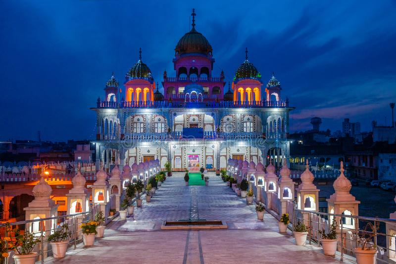 Temple hindouiste de Jammu Inde photos libres de droits