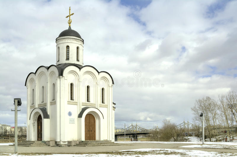 Download Temple Of The Holy Prince Mikhail Of Tver Stock Photo - Image of church, landmark: 39512710
