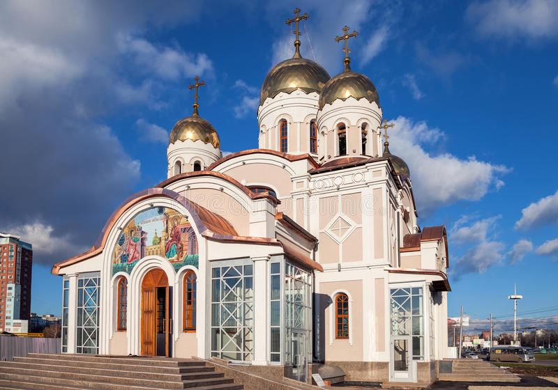 The temple in honor of the Annunciation of the Blessed Virgin Mary royalty free stock image