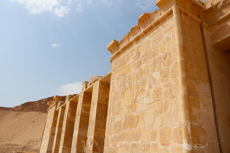 Temple of Horus royalty free stock images