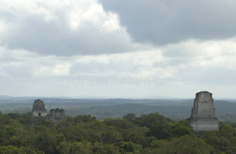 Download Temple III tikal stock photo. Image of tikal, ancient - 1719690