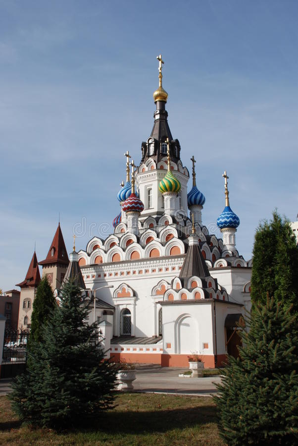 Free Temple In Saratov Stock Images - 12219054