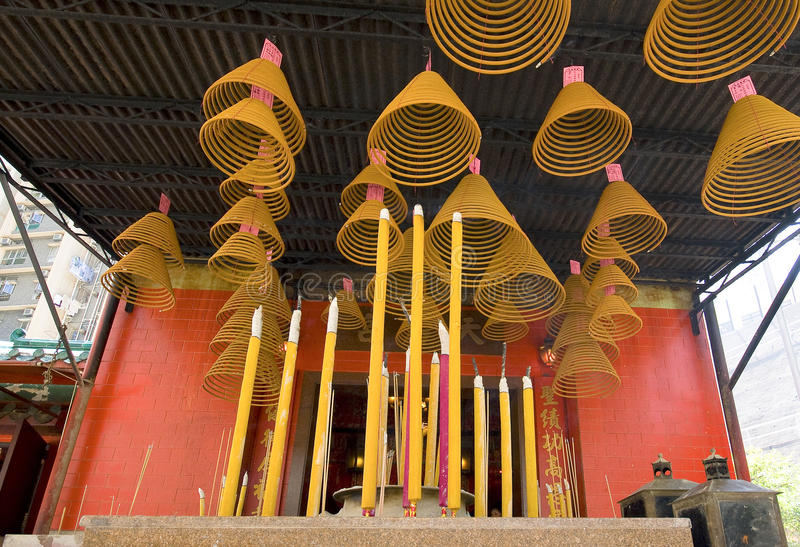 Download Temple Incense stock image. Image of wish, oriental, east - 18056835